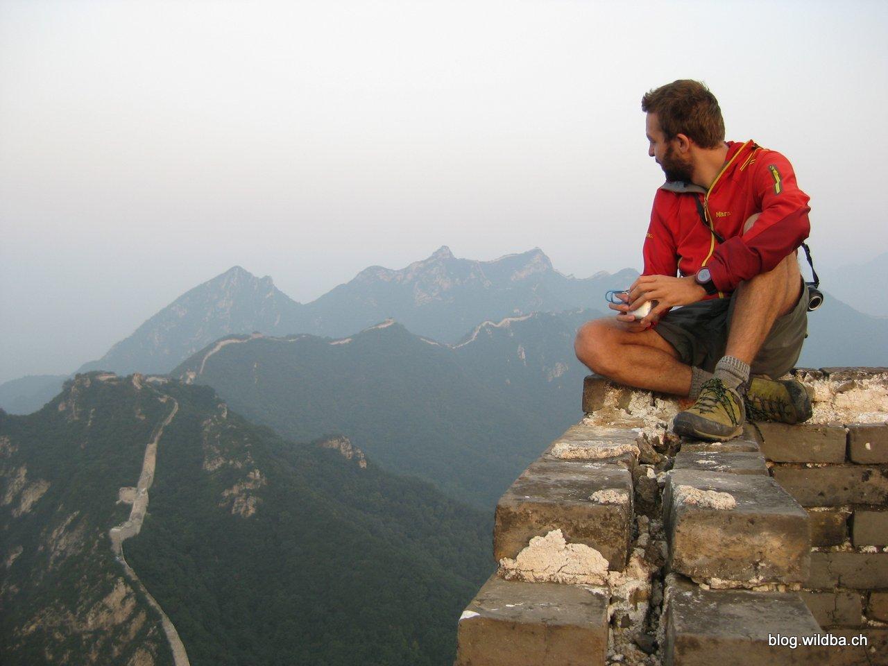 Camping Chinese Wall
