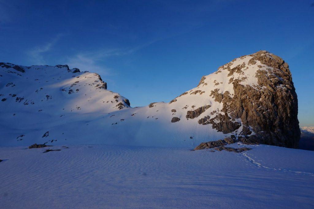 Sommerstein und der Grat zum Schönegg
