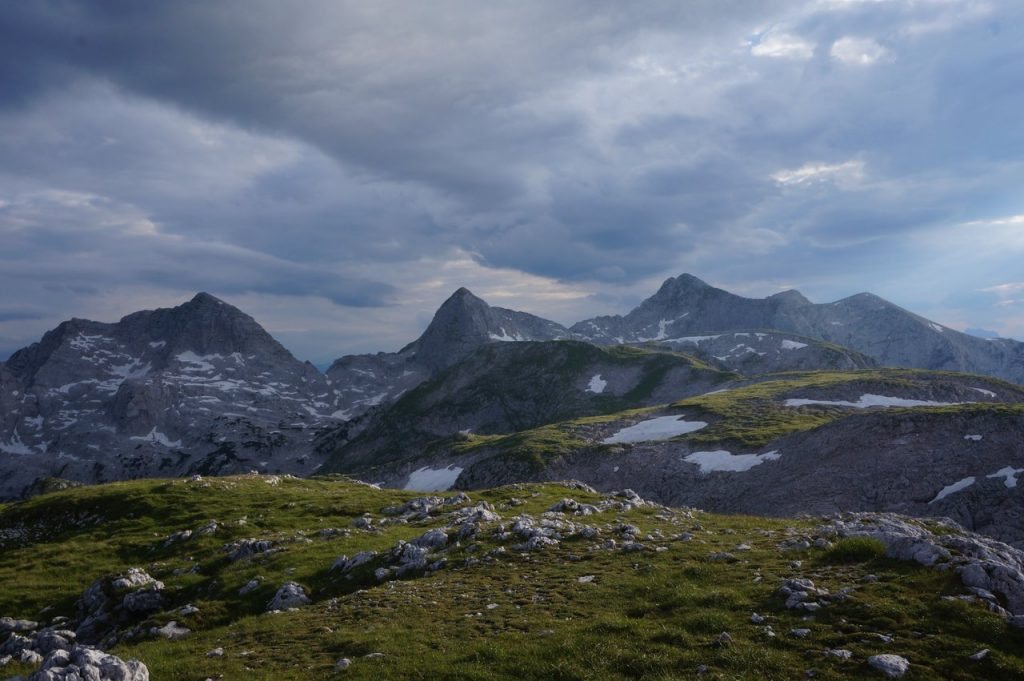Die Hörner der Reiter Alpe