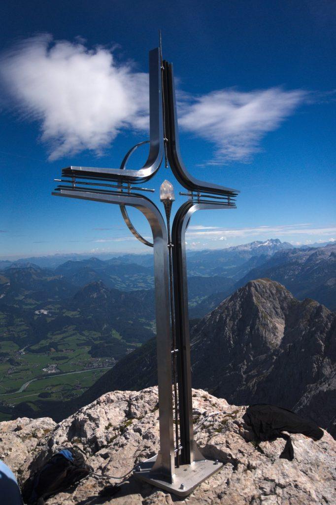 Gipfelkreuz des Hohen Göll