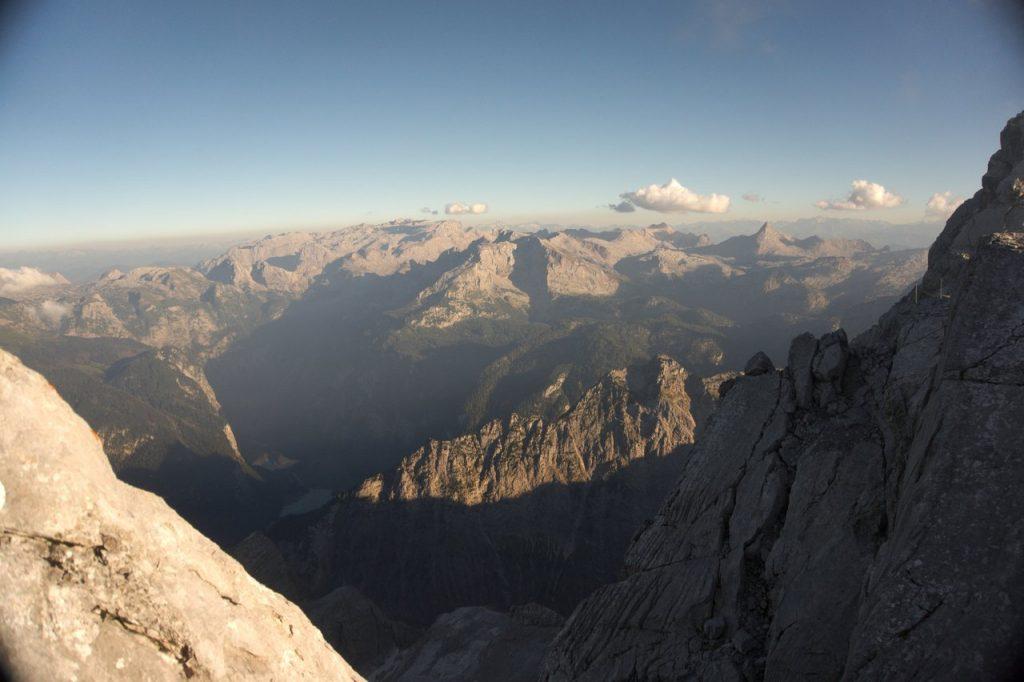 Gipfelpanorama vom Hocheck