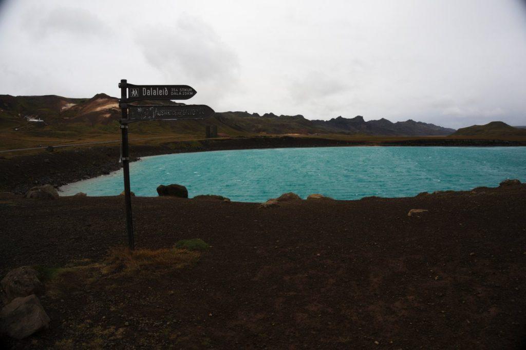 Grænavatn - der erste Geothermalsee