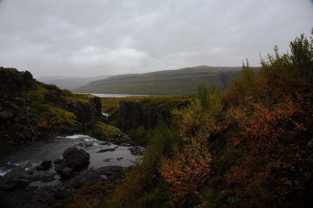 Wanderung am Vatnsfjörður Nature Reserve
