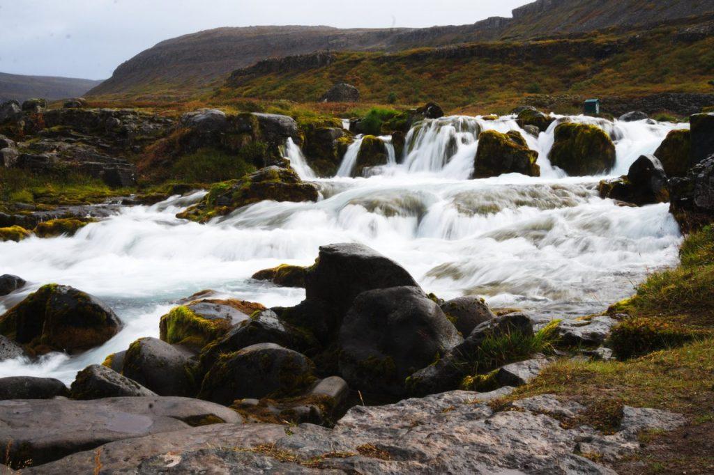 Der Fluss Dynjandisá