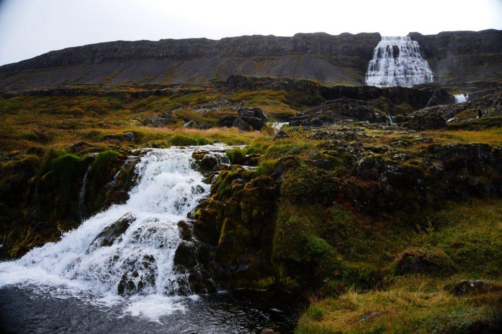 Der Wasserfall Dyandi