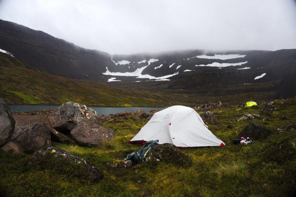Wildcampen südlich von Ísafjörður