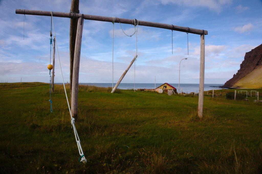 Kinderspielplatz oder für die Fischerei?