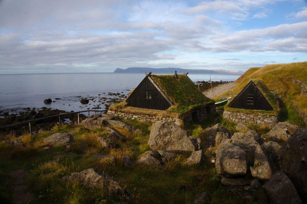 Torfhäuser des Fischereimuseums