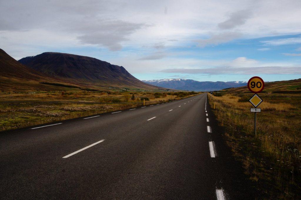 Ringstraße nach Akureyri
