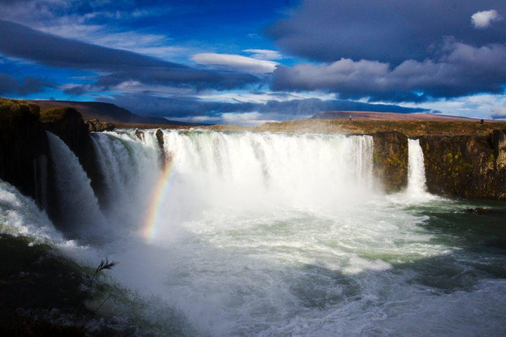 Der Wasserfall Goðafoss