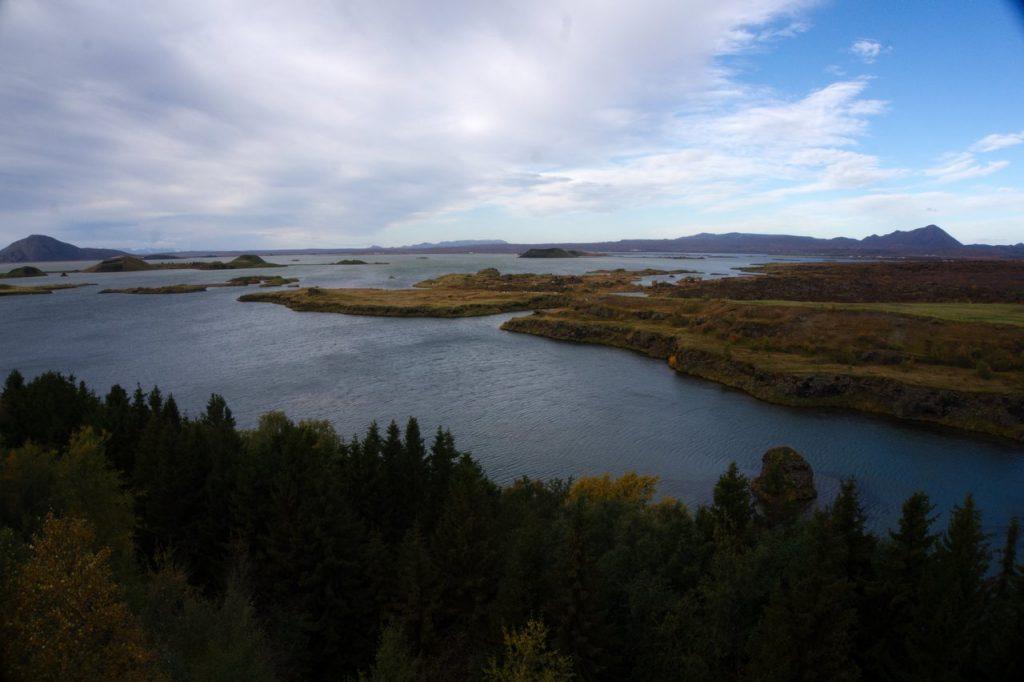 Seenlandschaft Mývatn