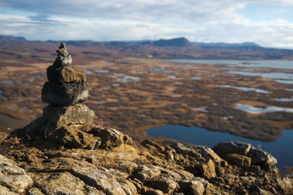 Aussicht über Mývatn