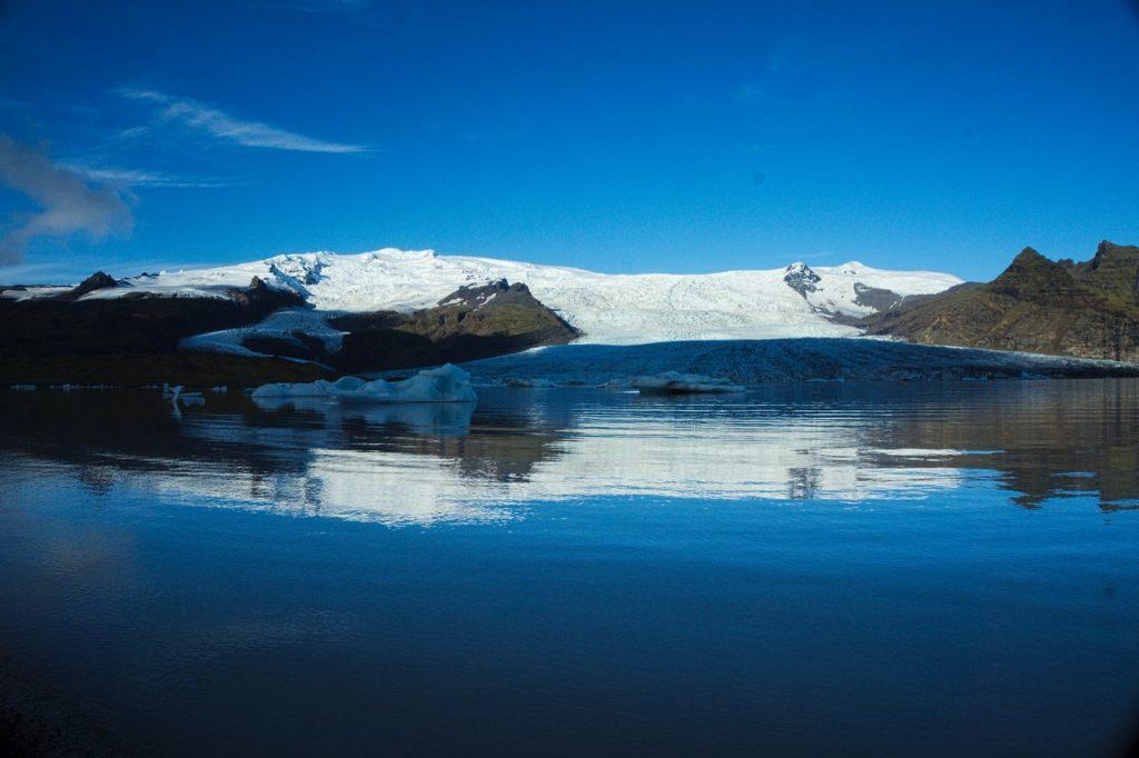 Der Gletschersee Fjallsarlon