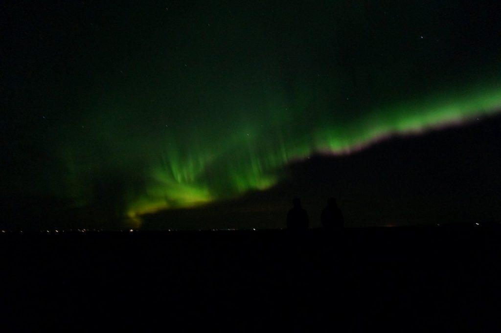 Nordlicher der Stärke 6 laut Isländischem Wetterbericht