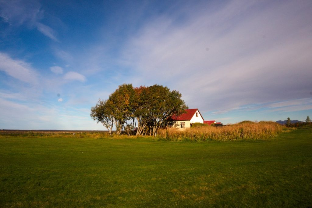 Isländischer Bauernhof
